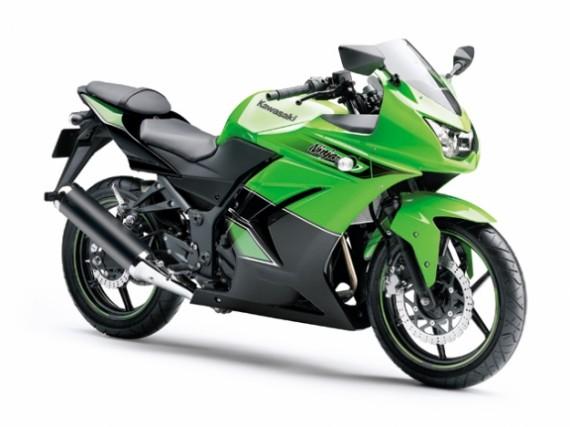 Ninja 250 2011 Verde e Preta