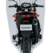 Suzuki DL-650 V-Strom Laranja Traseira