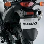 Traseira da Suzuki DL-650 V-Strom