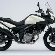 Suzuki DL-650 V-Strom Branca Direita