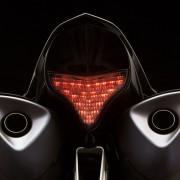 Traseira da Yamaha YZF-R1 2012