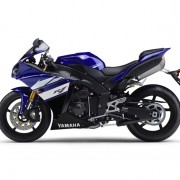 Yamaha YZF-R1 2012 Azul Direita 2