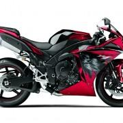 Yamaha YZF-R1 2012 Vermelha Direita 2
