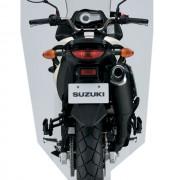 Suzuki DL-650 V-Strom Branca Traseira