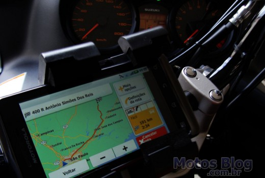 Celular com GPS