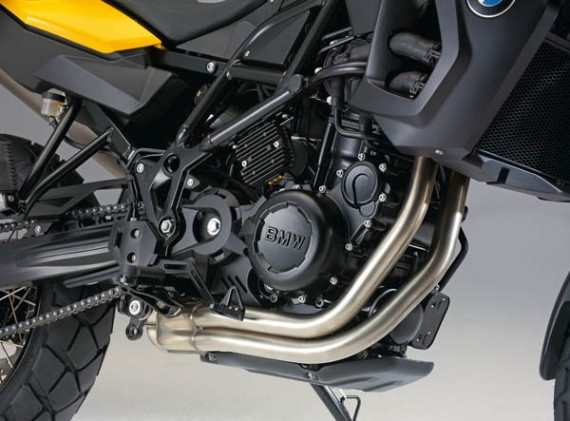 Motor da BMW F 800 GS