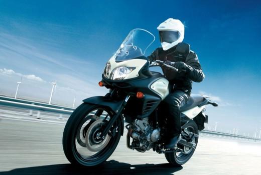 Suzuki V-Strom 650 2012 Branca