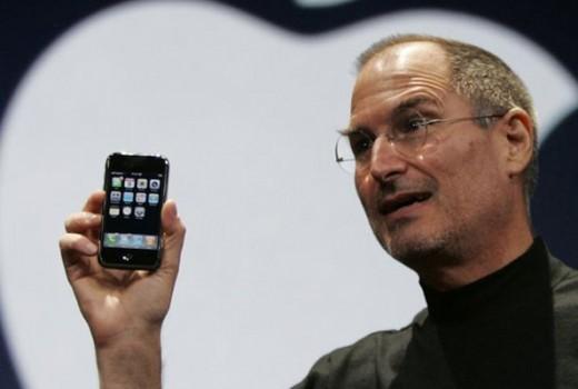 Steve Jobs no Keynote em 2007