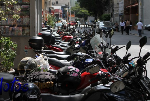 Estacionamento de motos